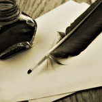 écriture plume