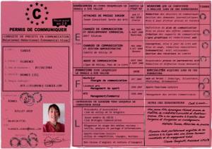 cv-permis de conduire